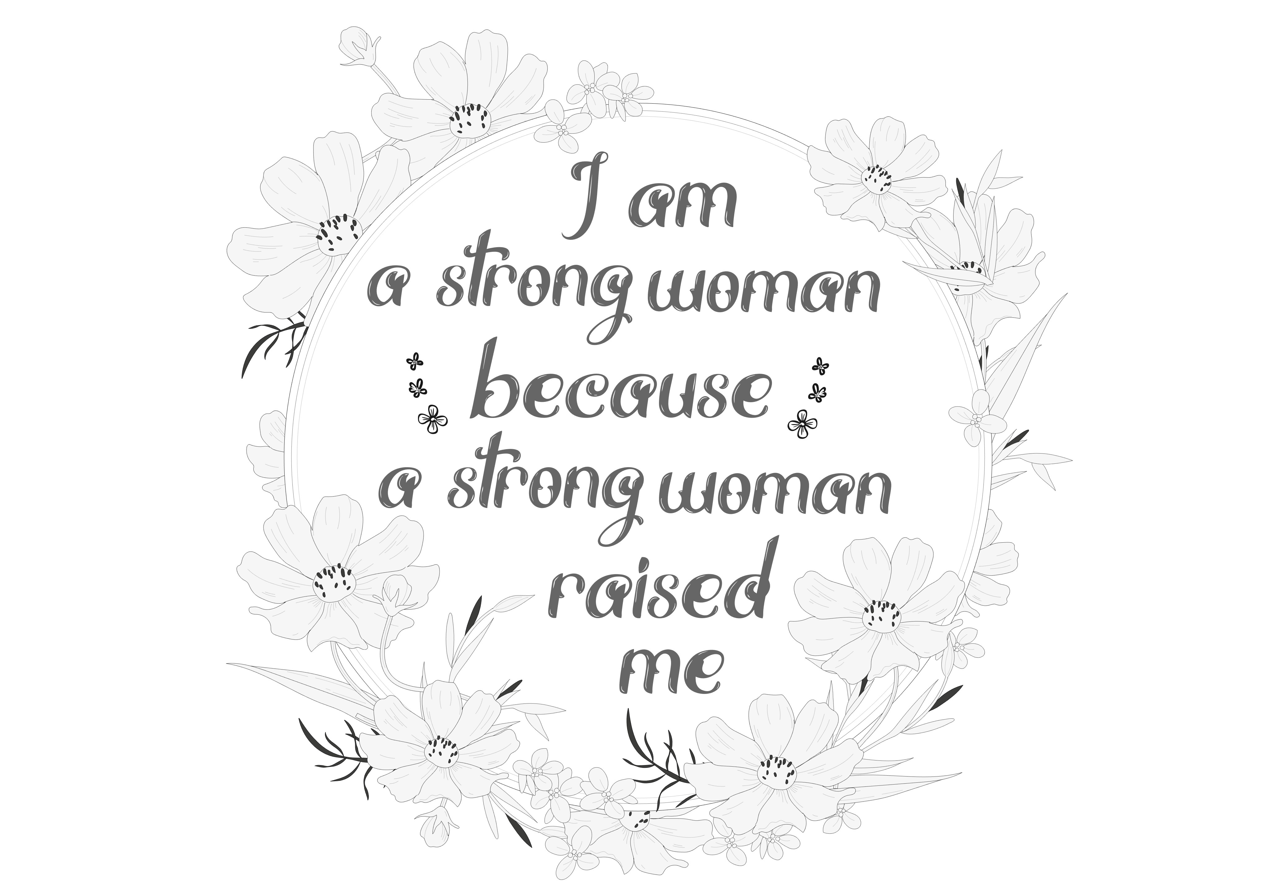Download Free Strong Mom Strong Me Graphic By Jgalluccio Creative Fabrica for Cricut Explore, Silhouette and other cutting machines.
