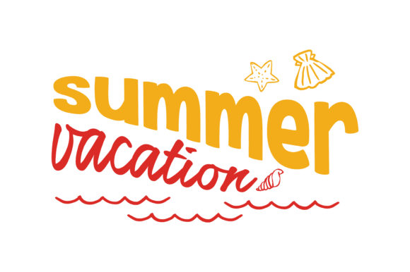 Download Free Summer Vacation Quote Svg Cut Graphic By Thelucky Creative Fabrica for Cricut Explore, Silhouette and other cutting machines.