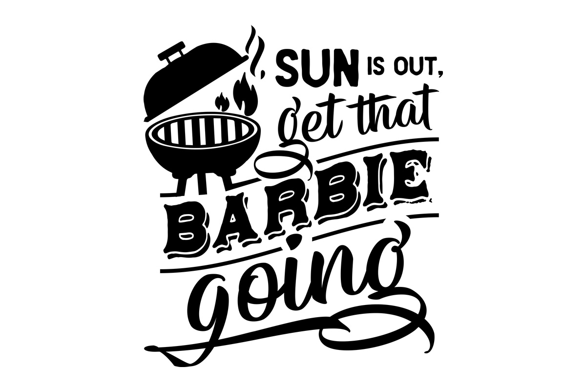 Download Free Sun Is Out Get That Barbie Going Svg Cut File By Creative for Cricut Explore, Silhouette and other cutting machines.