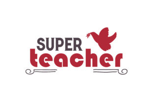 Download Free Super Teacher Quote Svg Cut Grafico Por Thelucky Creative Fabrica for Cricut Explore, Silhouette and other cutting machines.