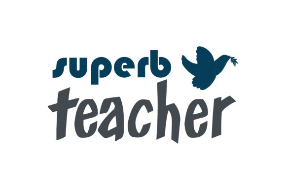 Download Free Superb Teacher Quote Svg Cut Graphic By Thelucky Creative Fabrica for Cricut Explore, Silhouette and other cutting machines.