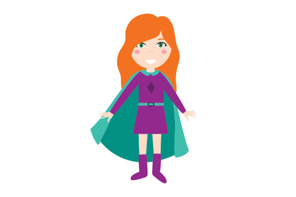 Download Free Superhero Designs For Girls Svg Cut File By Creative Fabrica Crafts Creative Fabrica for Cricut Explore, Silhouette and other cutting machines.