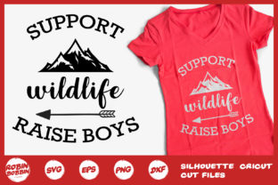 Download Free Support Wildlife Raise Bouts Svg Mother Svg Graphic By for Cricut Explore, Silhouette and other cutting machines.