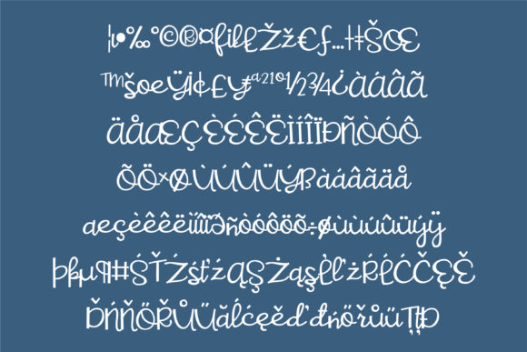 Sweet and Sour Font By Illustration Ink Image 3