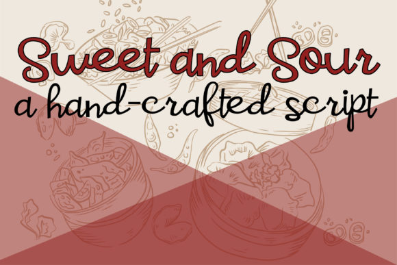 Print on Demand: Sweet and Sour Script & Handwritten Font By Illustration Ink - Image 1
