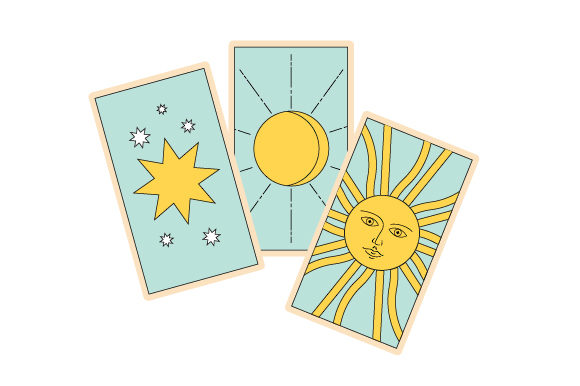 Download Free Tarot Cards Svg Cut File By Creative Fabrica Crafts Creative for Cricut Explore, Silhouette and other cutting machines.