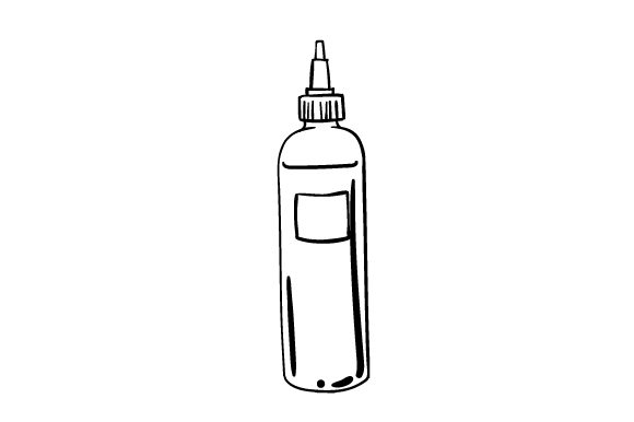 Download Free Tattoo Ink Bottle Svg Plotterdatei Von Creative Fabrica Crafts for Cricut Explore, Silhouette and other cutting machines.