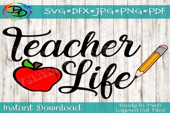 Teacher School Graphic Crafts By dynamicdimensions