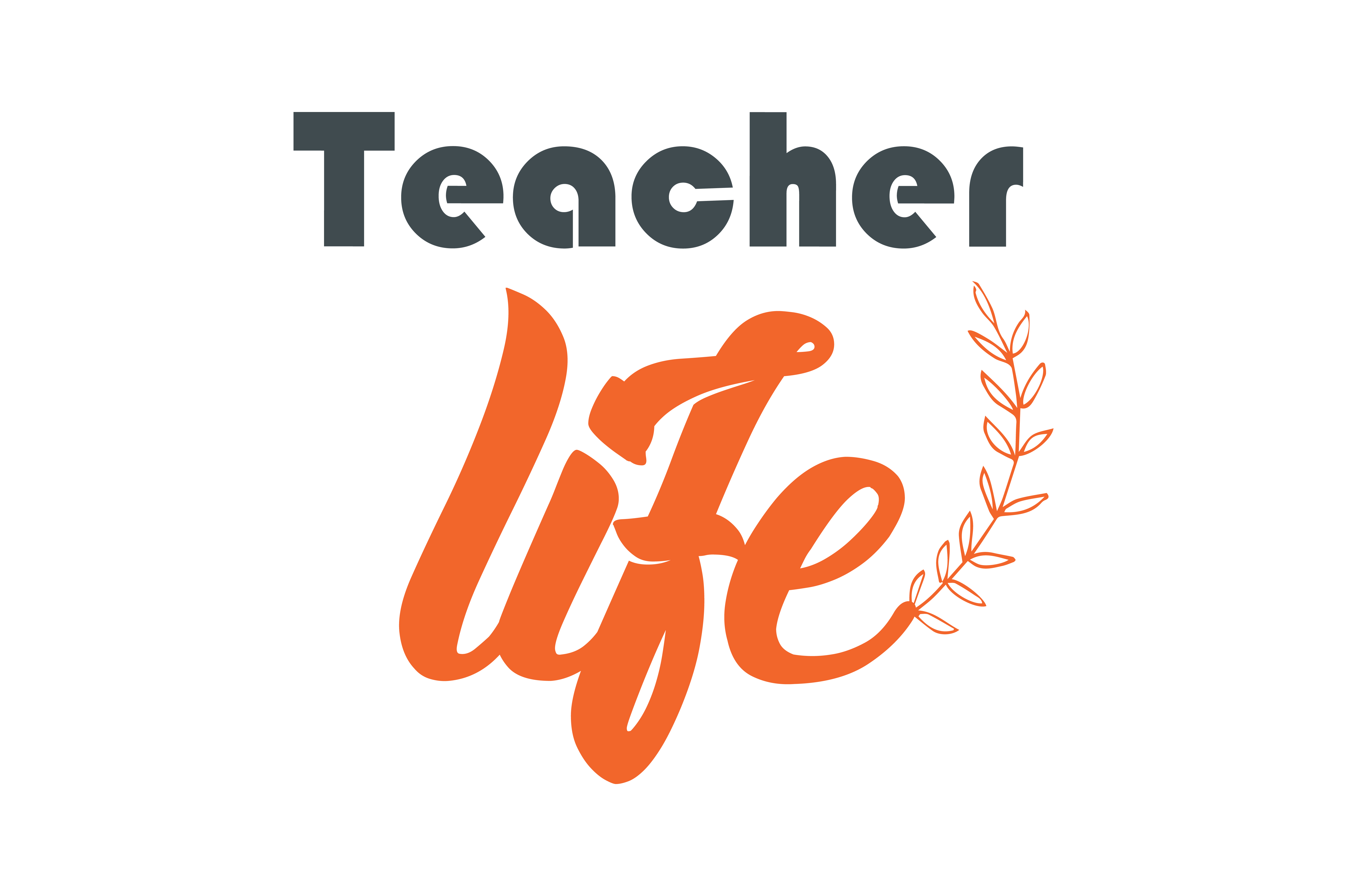 Download Free Teacher Life Quote Svg Cut Graphic By Thelucky Creative Fabrica for Cricut Explore, Silhouette and other cutting machines.