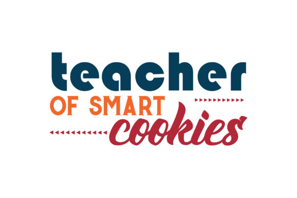 Download Free Teacher Of Smart Cookies Quote Svg Cut Graphic By Thelucky Creative Fabrica for Cricut Explore, Silhouette and other cutting machines.