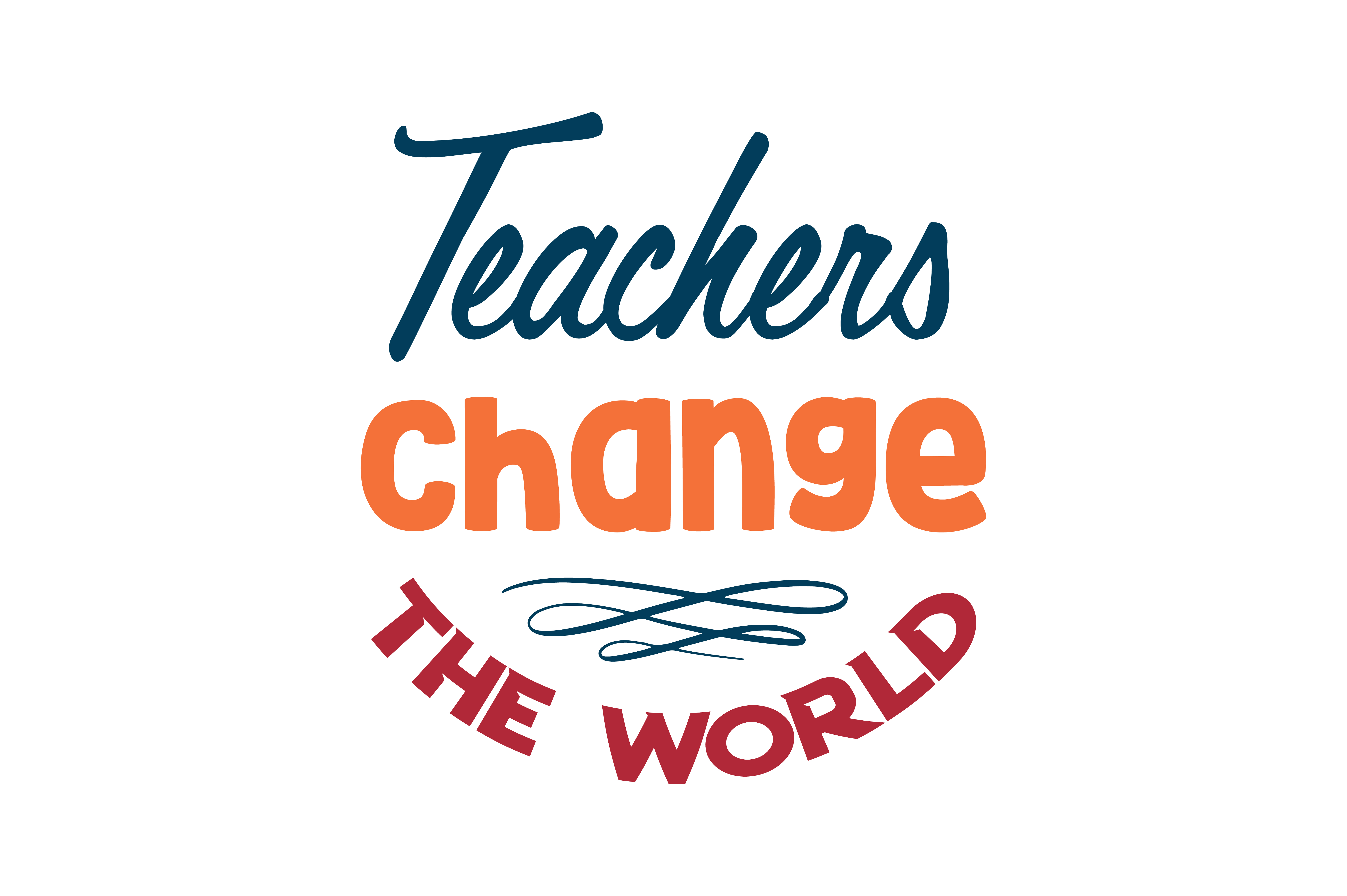 Download Free Teachers Change The World Quote Svg Cut Graphic By Thelucky for Cricut Explore, Silhouette and other cutting machines.
