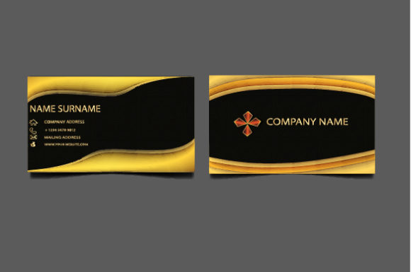 Print on Demand: Template Business Card Template Graphic Print Templates By imammuslim835 - Image 1
