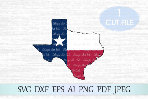 Texas SVG Graphic Crafts By MagicArtLab
