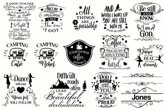 Download Free The Big Svg Bundle Grafik Von Nerd Mama Cut Files Creative Fabrica for Cricut Explore, Silhouette and other cutting machines.