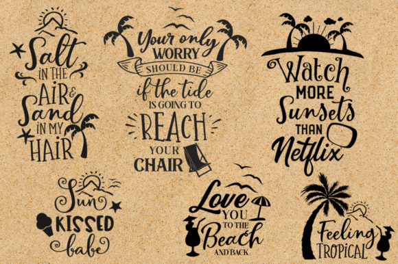 Print on Demand: The Big SVG Bundle Graphic Crafts By Nerd Mama Cut Files - Image 9