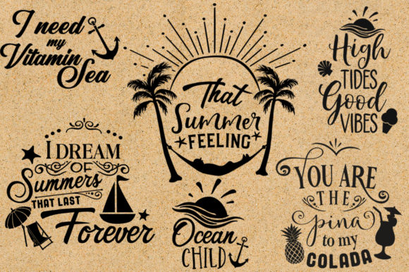 Print on Demand: The Big SVG Bundle Graphic Crafts By Nerd Mama Cut Files - Image 10