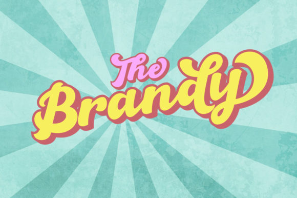 Print on Demand: The Brandy Script & Handwritten Font By Haksen