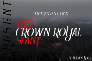 The Crown Royal Font By jehansyah251