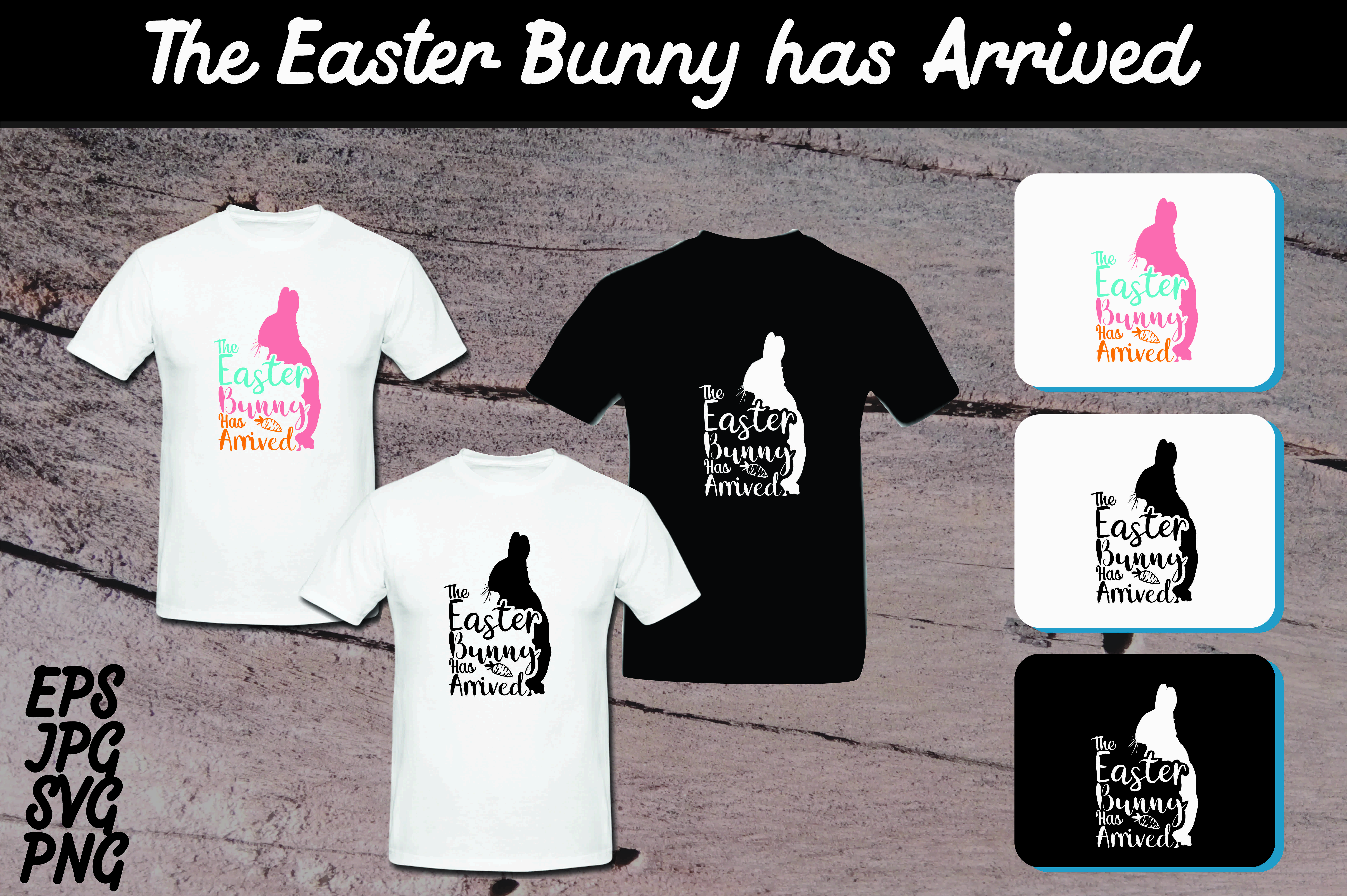 Download Free The Easter Bunny Has Arrived Set Svg Vector Image Graphic By SVG Cut Files