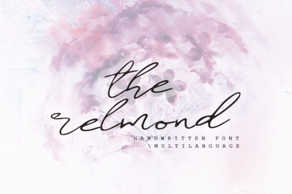 Print on Demand: The Relmond Script & Handwritten Font By Katie Holland