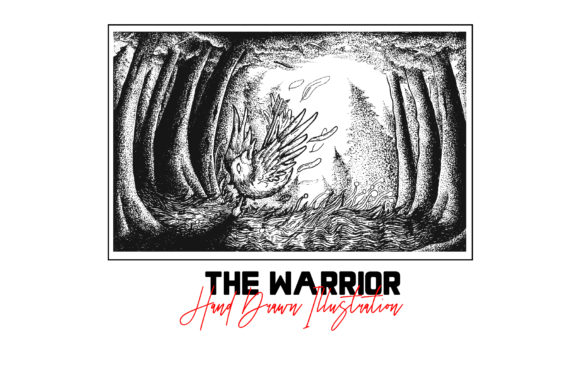 The Warrior Graphic Illustrations By gumacreative - Image 2