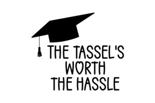 The Tassel's Worth the Hassle Craft Design By Creative Fabrica Crafts