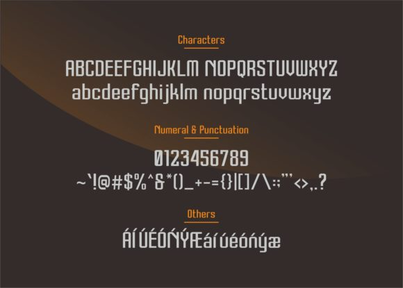 Print on Demand: Therover Sans Serif Font By visualide - Image 5