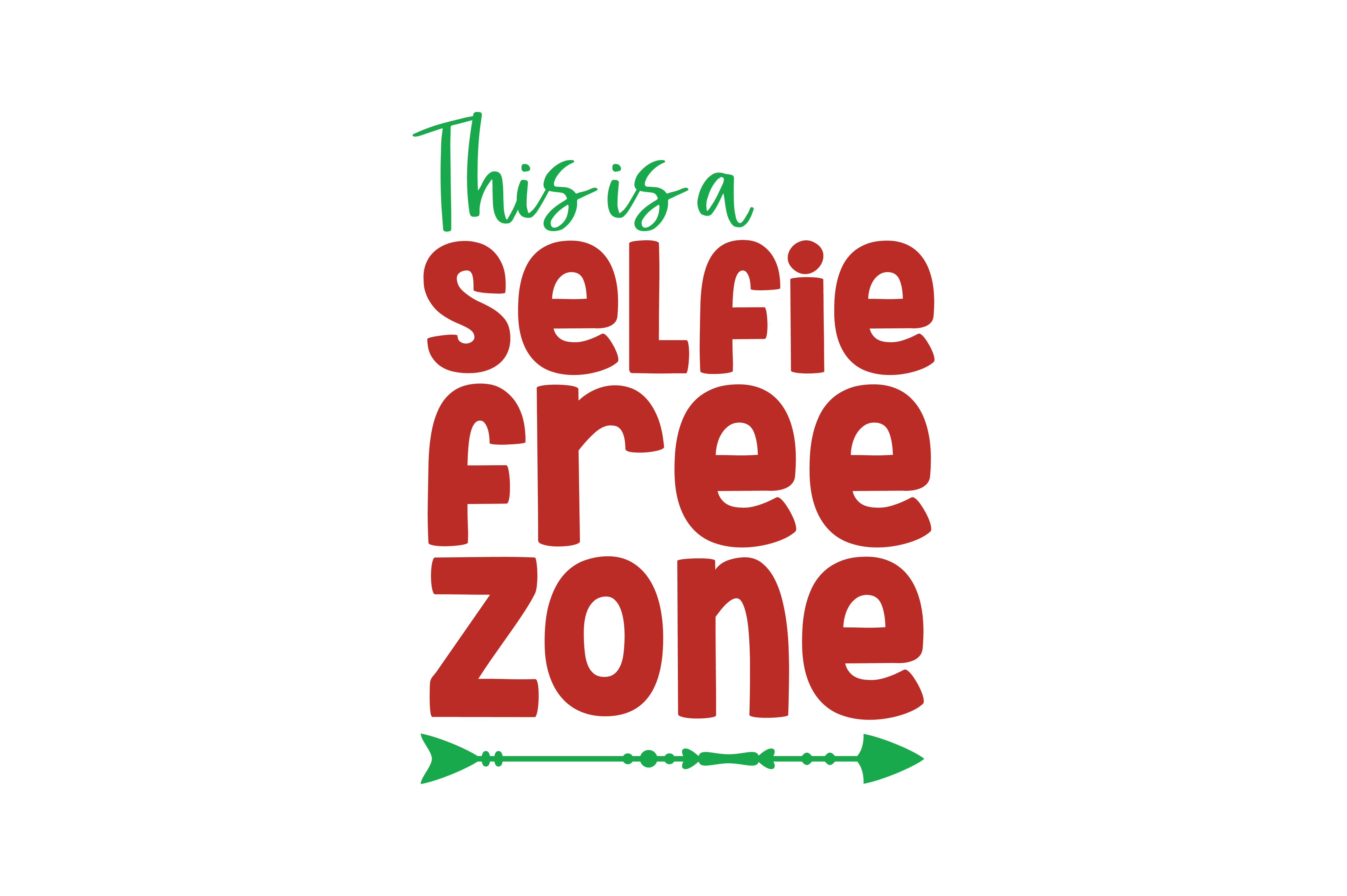 Download Free This Is A Selfie Free Zone Quote Svg Cut Graphic By Thelucky for Cricut Explore, Silhouette and other cutting machines.