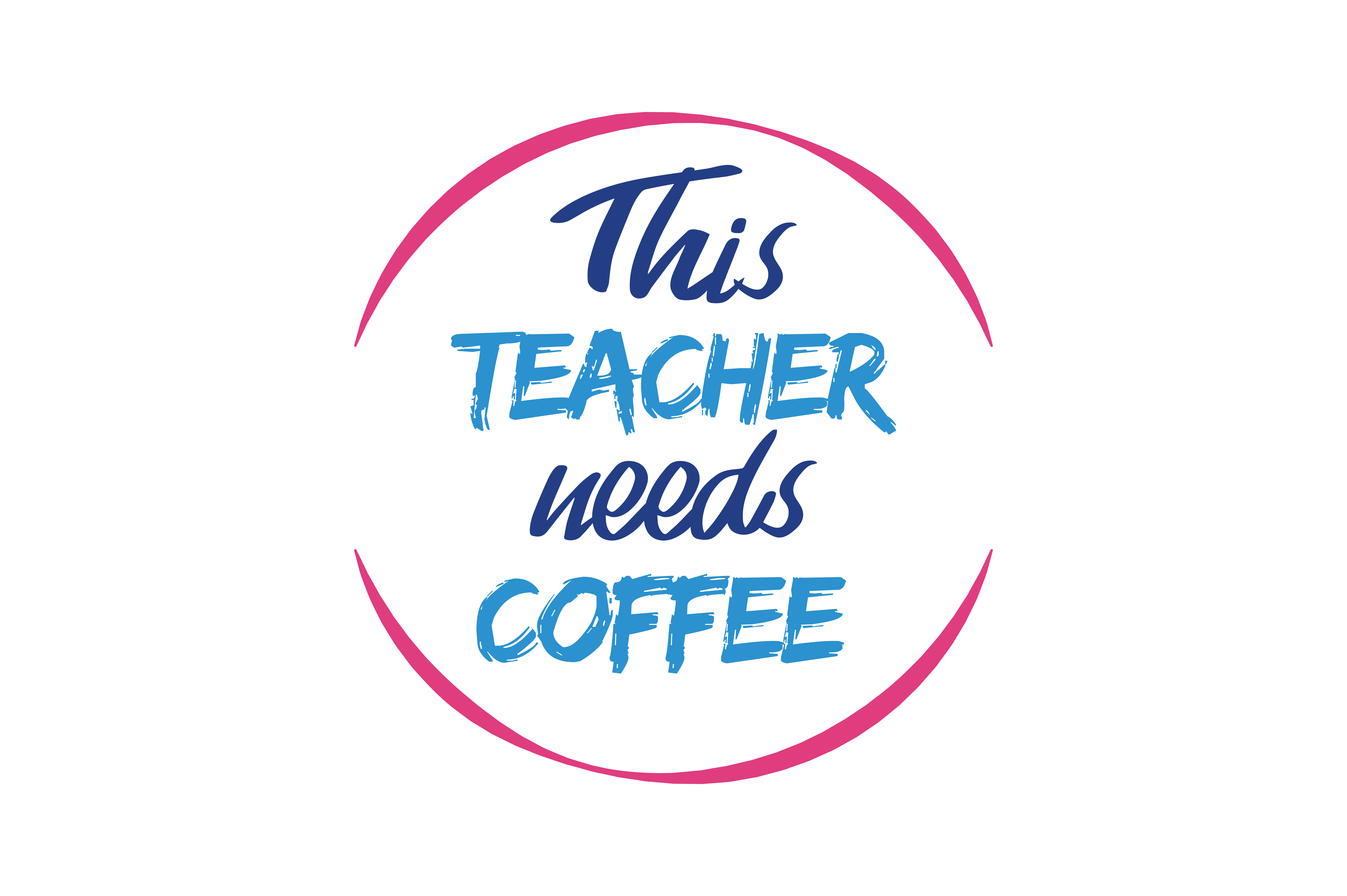 Download Free This Teacher Need Coffee Quote Svg Cut Graphic By Thelucky for Cricut Explore, Silhouette and other cutting machines.