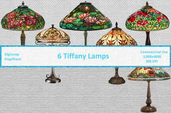Tiffany Lamps Graphic By Digiscrap Angelhaze