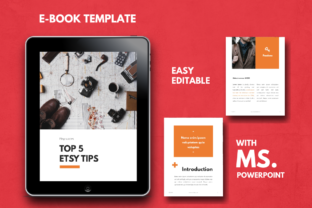 Download Free Tips Ebook Powerpoint Template Graphic By Rivatxfz Creative Fabrica for Cricut Explore, Silhouette and other cutting machines.