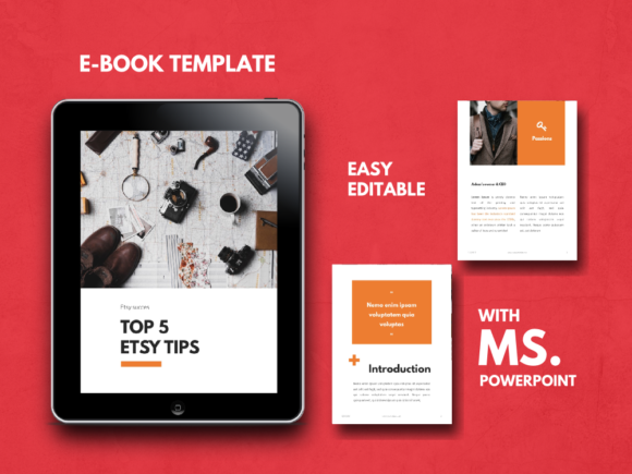 Tips Ebook Powerpoint Template Graphic By rivatxfz Image 1