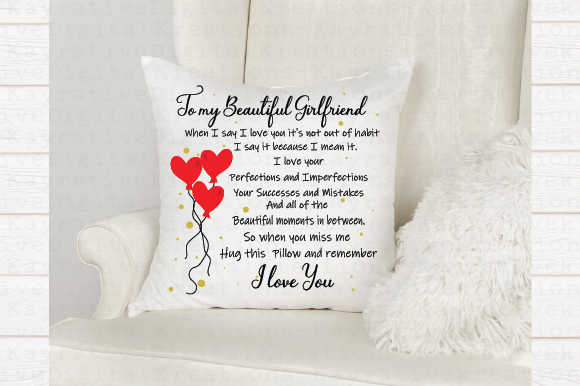 Download Free To My Girlfriend Svg Girlfriend Gift Graphic By Kayla Griffin for Cricut Explore, Silhouette and other cutting machines.