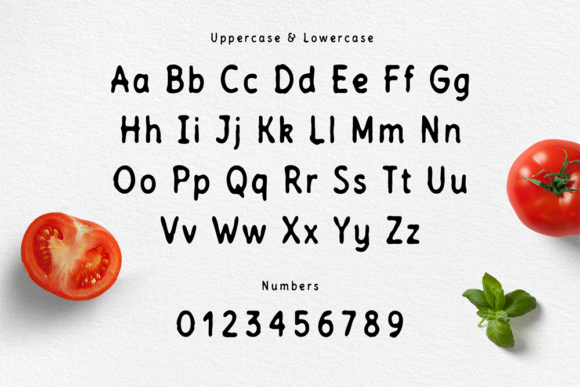 Print on Demand: Tomatino Sans Serif Font By Cosmic Store - Image 2