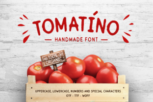 Print on Demand: Tomatino Sans Serif Font By Cosmic Store