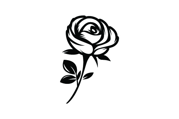 Download Free Rose Tattoo Svg Plotterdatei Von Creative Fabrica Crafts for Cricut Explore, Silhouette and other cutting machines.