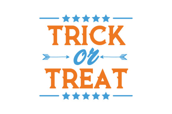 Print on Demand: Trick or Treat Quote SVG Cut Graphic Crafts By TheLucky