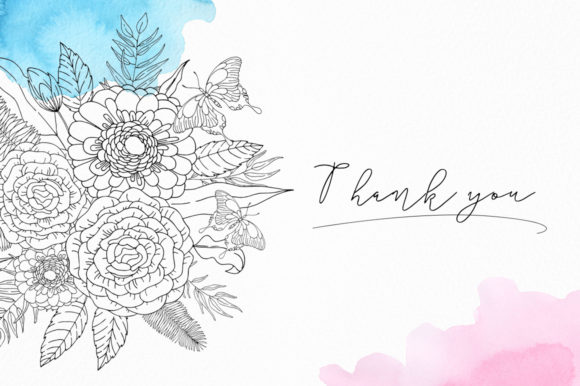 Tropical Blossom Graphic Collection Graphic By Nata Art Graphic Image 14