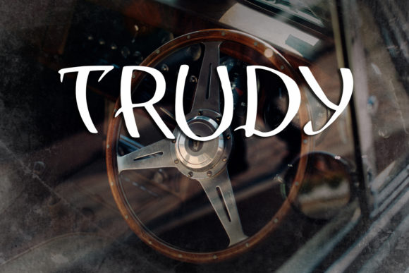 Print on Demand: Trudy Decorative Font By Eldamar Studio Fonts