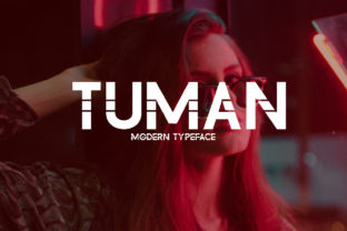 Tuman Font By da_only_aan