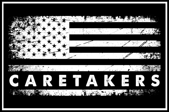 Download Free Usa Flag Caretakers Graphic By Zaibbb Creative Fabrica for Cricut Explore, Silhouette and other cutting machines.