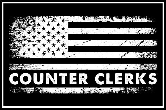 Download Free Usa Flag Counter Clerks Graphic By Zaibbb Creative Fabrica for Cricut Explore, Silhouette and other cutting machines.