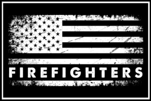 Download Free Usa Flag Firefighters Graphic By Zaibbb Creative Fabrica for Cricut Explore, Silhouette and other cutting machines.