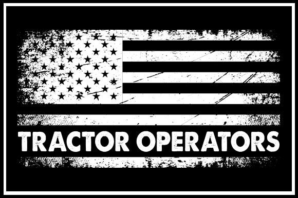 Download Free Usa Flag Tractor Operators Graphic By Zaibbb Creative Fabrica for Cricut Explore, Silhouette and other cutting machines.