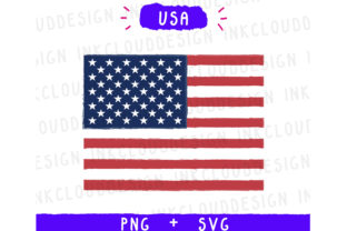 USA United States World Country Flags Graphic By Inkclouddesign