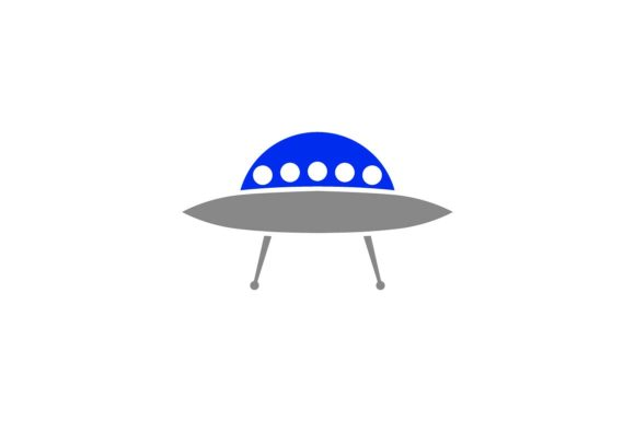 Print on Demand: Ufo Graphic Icons By khld939