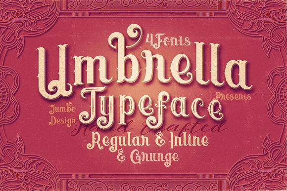 Umbrella Display Font By JumboDesign