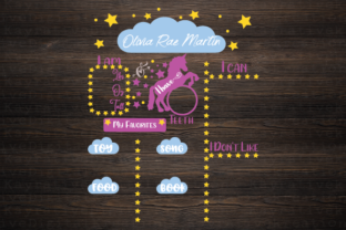 Download Free Unicorn Milestone Board Svg Graphic By Kayla Griffin Creative for Cricut Explore, Silhouette and other cutting machines.