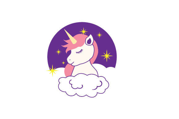 Download Free Unicorn For Kids Svg Cut File By Creative Fabrica Crafts for Cricut Explore, Silhouette and other cutting machines.