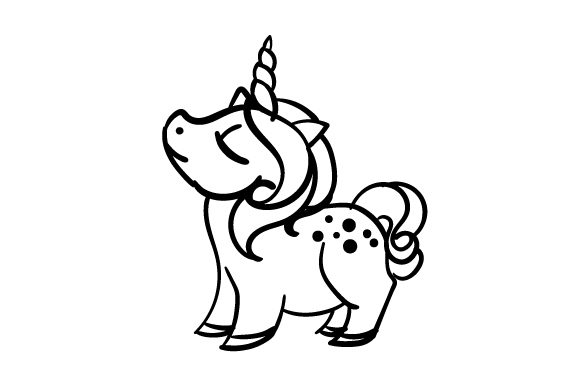 Unicorn for Kids Animals Craft Cut File By Creative Fabrica Crafts - Image 2